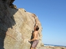 Bouldering at St Francis, near Jeffreys Bay