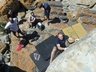 Eastern Cape climbing group climbing at St Francis