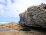 Bouldering at Cape St Francis