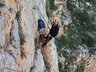 John Alexander on belay stance of Made in the Shade.