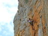 Climbing at Naga's Kloof