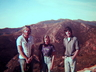Eastern Cape climbers climbing in Swartberg Pass, 1978. John Moss, Kim Cadle & Joe Maclennan. Photo thanks to Mike McKechnie collection.