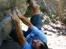 Dricus Bezuidenhout on Cracken 7A, Area 2 Alicedale ~ 2005