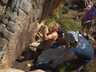 Bouldering event, Petzl Rock 'n Road Trip 2009. Photo thanks to Martin Renz collection.