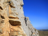 Climbing on Damasqua Ridge, PE