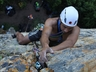 Che Freeze on Castle Crack (16) Rock Climbing at Woodridge ~ 2016