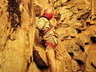Andrew Forsyth climbing a route in Tygerhoek Gorge ~ 1976 Photo thanks to Mike McKechnie collection.