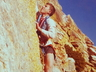 Andrew Forsyth climbing  in Tygerhoek Gorge ~ 1979 Photo thanks to Mike McKechnie collection.