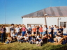 SACC Group Photo. Hangklip, Queenstown, SA Climber's Club meet Easter 1984. Photo courtesy Russ Dodding collection.